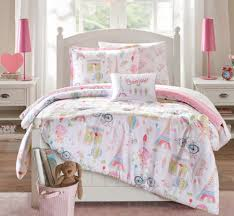 Girls Bedding Full by Pink Bonjour Paris Girls Bedding Twin Full Comforter Or Queen