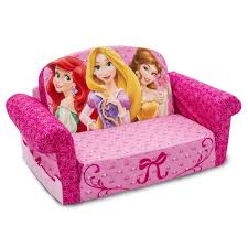 Doc Mcstuffins Sofa by Disney Princess Plush Kids Chair Fold Out Padded Sofa Bed Lounge