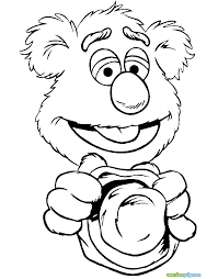 awesome printable muppets babies cartoon coloring pages printable