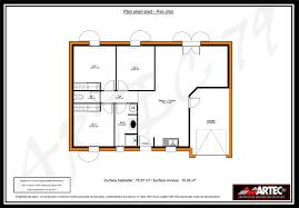 plan de maison plein pied gratuit 3 chambres plans de maisons constructeur deux sèvres
