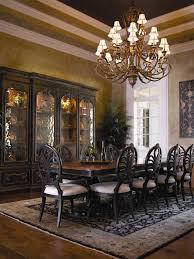 Grand Dining Room 100 European Style Home Villa Vigneto Texas A European