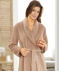 robe de chambre en courtelle robe de chambre et peignoir femme damart