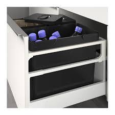 poubelle cuisine encastrable ikea variera waste sorting bin black 22 l ikea poubelle cuisine