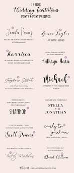 wedding invitations font top 20 free fancy fonts for diy wedding invitations updated