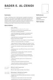 Mis Resume Samples by Sales Officer Resume Samples Visualcv Resume Samples Database