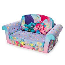 Toddler Sofa Sleeper Luxurious Marshmallow Furniture Children S 2 In 1 Flip Open Foam
