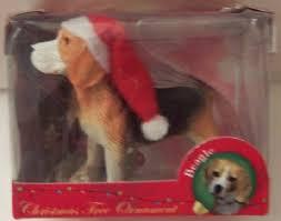 beagle ornaments american canine association santa