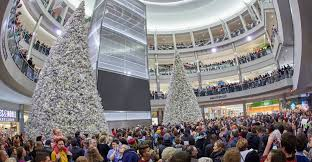 the mall of america will on thanksgiving with 15 000