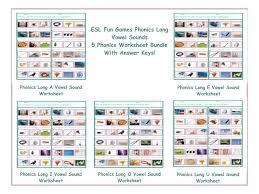 Silent Letters Worksheets Phonics Long U Vowel Sound Worksheet By Eslfungames Teaching