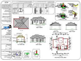 Three Bedroom House 3 Bedroomed House Plans In South Africa Memsaheb Net