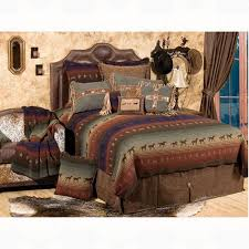 Western Duvet Covers Wooded River Mustang Canyon Bedding Collection Luxury Western
