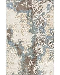 Blue Brown Area Rugs Find The Best Deals On Chandra Rugs Vingel Rectangular
