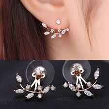 stud for ear aliexpress buy new silver color needle silver gold