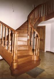 Curved Handrail How To Build Stairs Make Curved Stairways With Handrails