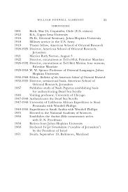 Registered Nurse Job Description For Resume William Foxwell Albright Biographical Memoirs Volume 91 The