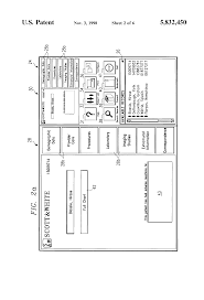 patent us5832450 electronic medical record using text database