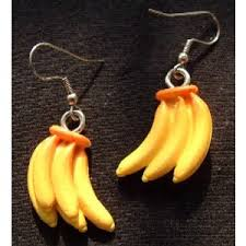 funky earrings team zebra unique funky earrings costume jewelry banana bu