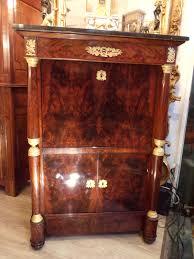 bureau en acajou le marché biron bureau secrétaire empire acajou 1804 1815