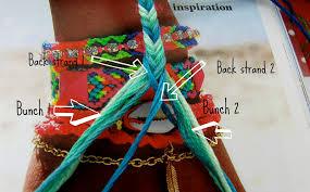 looms bracelet instructions images Feltasaurus diy ombre fishtail friendship bracelet tutorial jpg
