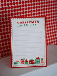 Printable Santa List Templates Free Printable Letter To Santa Wish List And Gift Tags Anders
