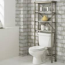 over the toilet etagere home styles orleans over toilet space saver étagère marble