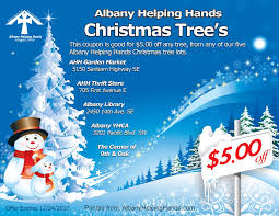 christmas trees u2014 albany helping hands