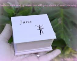 Personalized Music Box Ballerina Music Box Etsy