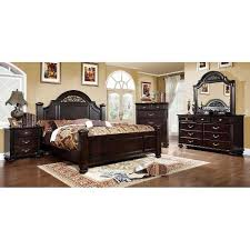 Best Bedroom Sets Images On Pinterest Master Bedroom - Dark wood queen bedroom sets