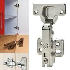 kitchen cabinet door hinges b q 1x safety door clip on hinges overlay kitchen cabinet cupboard standard