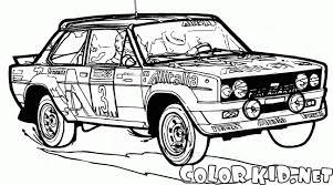 coloriage voiture ancienne