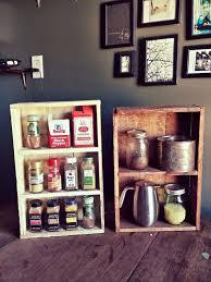Wall Spice Racks For Kitchen Rustic Pallet Kitchen Shelf U2013 Spice Rack Pallet Furniture Plans