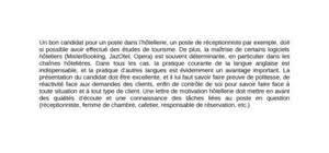 lettre de motivation hotellerie femme de chambre lettre de motivation hôtellerie modèle gratuit