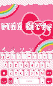 pink kitty hitap keyboard android apps google play