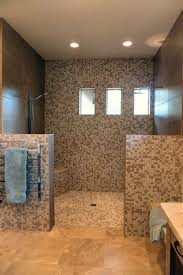 Bathroom With Open Shower Bathroom Open Shower Ideas Home Decorating Interior Design Ideas