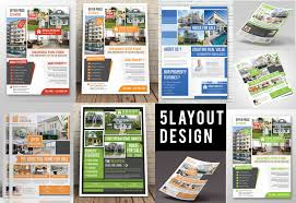 Template Real Estate Flyer by Real Estate Flyer Flyer Templates Creative Market