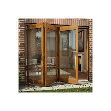 Oak Patio Doors Oak Veneer Glazed Patio Patio Door H 2105mm W 2405mm