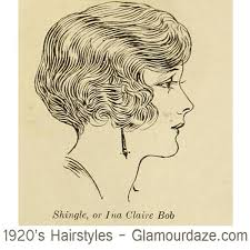 shingle haircut the 1920s also known as the roaring 1920s hairstyles shingle or ina claire bob hair pinterest