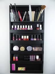 wall makeup organizer xtra large makeup organizer nail polish rack