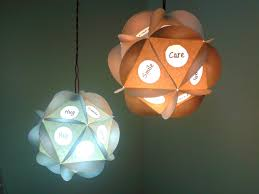 Paper Pendant Lamps Easy Cheap Awesome Looking Tlc Pendant Paper Lamp A K A Tender