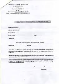demander acte de mariage transcription mariage maroc a nantes 2015 papiers a fournir