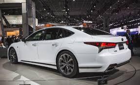 lexus ls f lexus announces 2018 ls500 and ls500h f sport car and