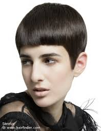 neckline photo of women wth shrt hair boyish short hairstyle for women with tapered lines up the neckline