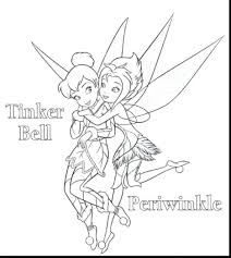 tinkerbell friends coloring pictures free printable disney