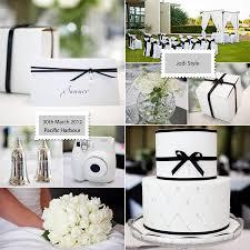 black and white wedding ideas black white wedding theme gorgeous outdoor ceremony set up