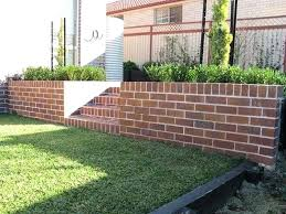 Garden Brick Wall Design Ideas Brick Wall Garden Garden Brick Wall Ideas Uk Ghanadverts Club