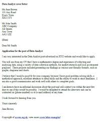 12 analyst cover letter job and resume template