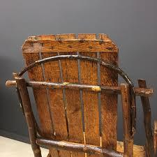 Vintage Adirondack Chairs Vintage American Adirondack Rocking Chair For Sale At Pamono