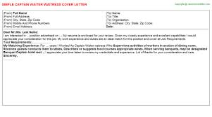 Waitress Resume Example by Waitress Cover Letter Example Quote No Experience Waitress