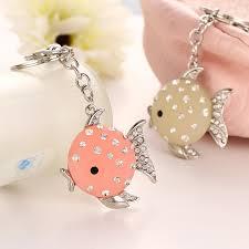 cute key rings images Cute key chains fish rhinestone women car key chain pendant jpg
