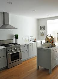 Slate Grey Kitchen Cabinets Slate Grey Shaker Cabinets No Uppers Sara Hicks Malone On